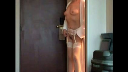 Gradually. opinion, Naked chick opens door