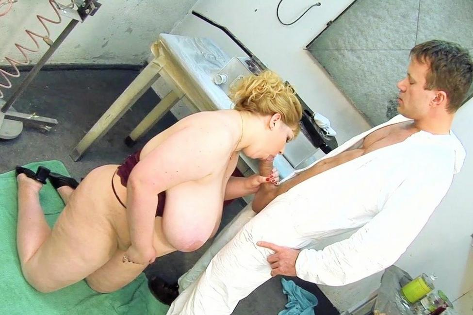 Bitch dick mature suck