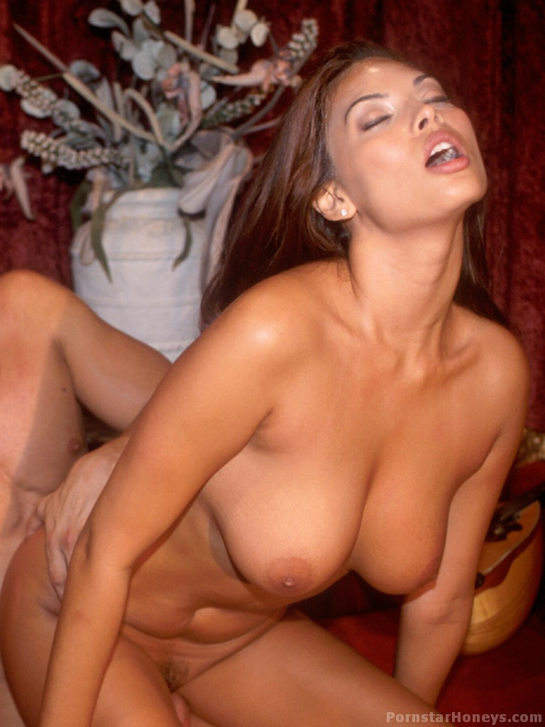 Nude girl with black long nipples