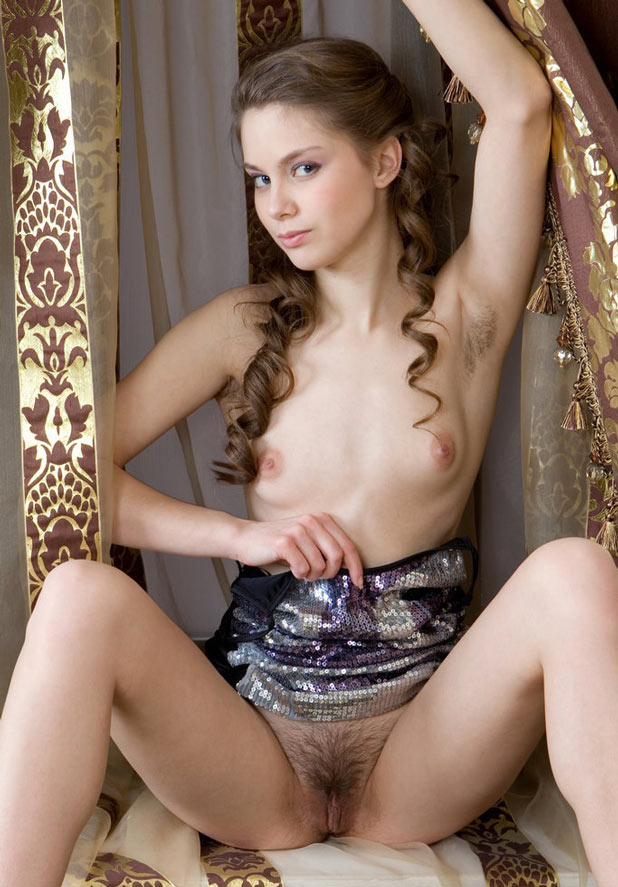 Beautiful petite nude women