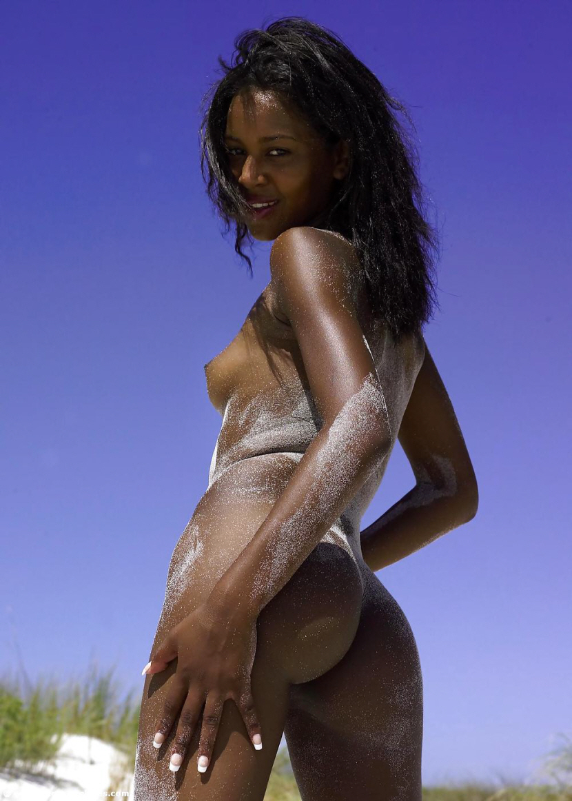 Nude ebony women outside pics opinion you