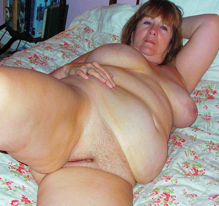bbw chubby mature pussy Amateur fat shaved