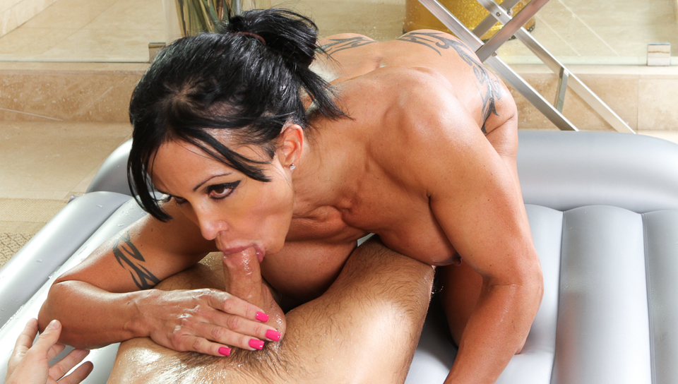 Milf getting cum shot